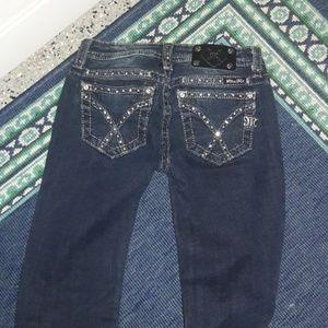 Miss Me girls size 14 skinny jeans